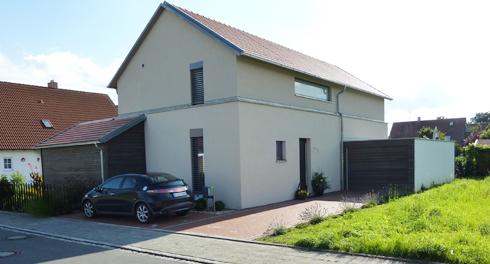 Neubau eines Passiv-Einfamilienwohnhauses